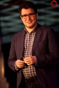 Eric Ries in Amsterdam
